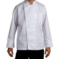 Chef Revival J023-L Chef-Tex Size 46 (L) Customizable Poly-Cotton Classic Chef Jacket