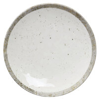 Elite Global Solutions D110R-CTS Countryside 10 1/8 inch Speckled Melamine Coupe Plate - 6/Case
