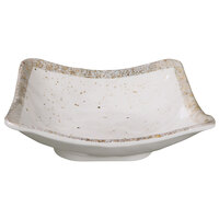 Elite Global Solutions D92SQ-CTS Countryside 44 oz. Speckled Square Melamine Bowl - 6/Case