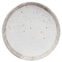 Elite Global Solutions D71R-CTS Countryside 7 5/8 inch Speckled Melamine Coupe Plate - 6/Case