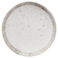 Elite Global Solutions D8125R-CTS Countryside 8 1/2 inch Speckled Melamine Coupe Plate - 6/Case