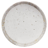 Elite Global Solutions D61R-CTS Countryside 6 1/8 inch Speckled Melamine Coupe Plate - 6/Case