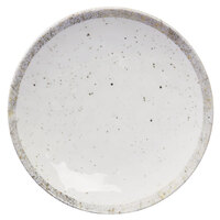 Elite Global Solutions D1115R-CTS Countryside 11 inch Speckled Melamine Coupe Plate - 6/Case