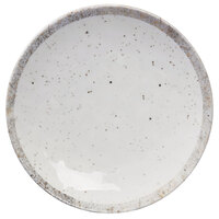 Elite Global Solutions D9138R-CTS Countryside 9 1/2 inch Speckled Melamine Coupe Plate - 6/Case