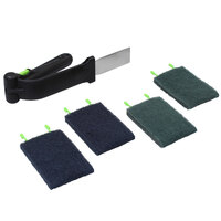 Rational 60.73.925 Cleaning Kit with Arm and 4 Pads for iVario Tilt Skillets