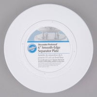 Wilton 302-4101 Decorator Preferred Round Smooth Edge Cake Separator Plate - 6 inch