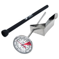 CDN IRB220-F-6.5 ProAccurate Insta-Read 6 1/2 inch Hot Beverage and Frothing Thermometer - 0 to 220 Degrees Fahrenheit