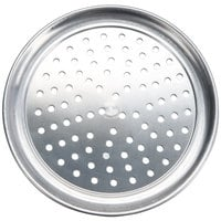 American Metalcraft PHATP8 8 inch Perforated Heavy Weight Aluminum Wide Rim Pizza Pan