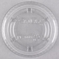 Solo PL200N Medium Clear Plastic Souffle / Cup Lid   - 125/Pack