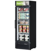 Turbo Air TGF-15SD Black 27 inch Super Deluxe Glass Door Merchandising Freezer