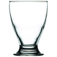 Pasabahce 41012-048 Cin Cin 6.5 oz. Footed Rocks / Old Fashioned Glass - 48/Case