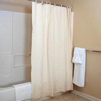 6' x 6' Champagne Vinyl Shower Curtain - 12/Case
