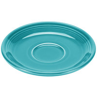 Homer Laughlin 470107 Fiesta Turquoise 5 7/8 inch Saucer - 12/Case