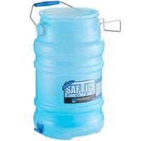 San Jamar SI6000BPAF Saf-T-Ice 6 Gallon Polypropylene Ice Tote