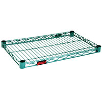 Eagle Group 1824E Eaglegard® NSF Hybrid Zinc / Green Epoxy 18 inch x 24 inch Wire Shelf
