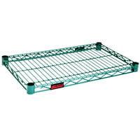 Eagle Group 3672E Eaglegard® NSF Hybrid Zinc / Green Epoxy 36 inch x 72 inch Wire Shelf