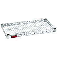 Eagle Group 1448Z Eaglebrite® NSF Zinc 14 inch x 48 inch Wire Shelf