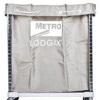 Metro LXHR-NB Vinyl Coated Nylon Laundry Bag for Lodgix Houserunner Carts