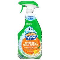 SC Johnson 306111 Scrubbing Bubbles® 32 oz. Multi-Surface Bathroom Soap Scum Cleaner / Disinfectant   - 8/Case