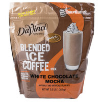 DaVinci Gourmet Ready to Use White Chocolate Mocha Mix - 3 lb.