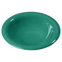 Carlisle 3303609 Sierrus 12 oz. 7 1/4 inch Meadow Green Rimmed Melamine Bowl - 24/Case