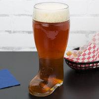 Stolzle 09735/808047 Biersiefel 1.1 Qt. Beer Boot Glass - 6/Case