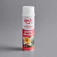 Noble Chemical Novo 10 oz. Spring Showers Aerosol Air Freshener / Deodorizer Spray   - 12/Case