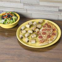 Homer Laughlin 505320 Fiesta Sunflower 15 inch China Pizza / Baking Tray - 4/Case