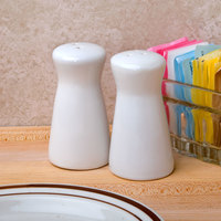 American Metalcraft CSPT2 2 oz. Ceramic Tower Salt and Pepper Shaker Set