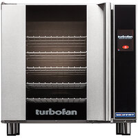 Moffat E32T5-P Turbofan Single Deck Full Size Electric Convection Oven with Touch Screen Controls - 208V, 1 Phase, 5.8 kW