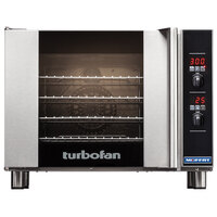 Moffat USE31D4-P Turbofan Single Deck Half Size Electric Convection Oven / Broiler with Digital Controls - 208V, 1 Phase, 2.9 kW