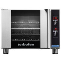 Moffat E32D5-2T Turbofan Single Deck Full Size Electric Convection Oven with Digital Controls - 220-240V, 1 Phase, 6.5 kW