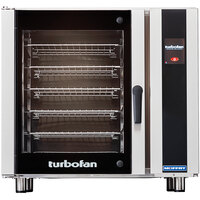 Moffat E35T6-26-T Turbofan Single Deck Full Size Electric Convection Oven with Touch Screen Controls - 220-240V, 3 Phase, 12.5 kW