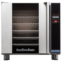 Moffat E32T5-T Turbofan Single Deck Full Size Electric Convection Oven with Touch Screen Controls - 220-240V, 1 Phase, 6.5 kW
