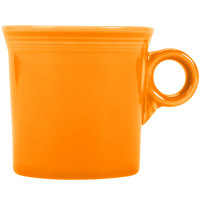 Homer Laughlin 453325 Fiesta Tangerine 10.25 oz. Mug - 12/Case