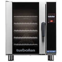 Moffat E33T5-P Turbofan Single Deck Half Size Electric Convection Oven with Touch Screen Controls - 208V, 1 Phase, 5.4 kW