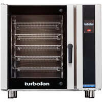 Moffat E35T6-26-T Turbofan Single Deck Full Size Electric Convection Oven with Touch Screen Controls - 220-240V, 1 Phase, 12.5 kW