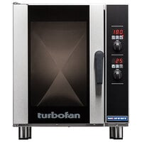 Moffat E33D5-T Turbofan Single Deck Half Size Electric Convection Oven with Digital Controls - 220-240V, 1 Phase, 6 kW