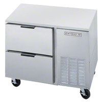 Beverage Air UCRD46A-2 46 inch Compact Undercounter Refrigerator with 2 Drawers - 16.7 Cu. Ft.