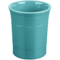 Homer Laughlin 447107 Fiesta Turquoise 6 5/8 inch Utensil Crock - 4/Case