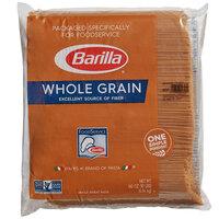 Barilla 10 lb. Whole Grain Spaghetti Pasta - 2/Case