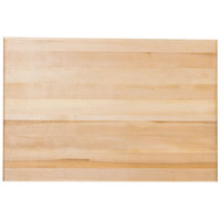 Bally Block 24 inch x 16 inch x 1 3/4 inch Maple Wood Cutting Board