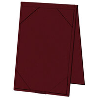 H. Risch, Inc. 4 inch x 6 inch A-Frame / Two View Wine Table Tent with Picture Corners