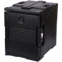 Cambro UPC400SP110 Camcarrier Black Pan Carrier with Security Package