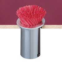 San Jamar L320C In-Counter Straw Dispenser