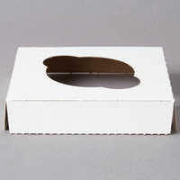 Reversible Cupcake Insert for 4 1/2 inch x 4 1/2 inch Box - Standard - Holds 1 Cupcake   - 200/Case