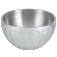 Vollrath 47688 Fluted Double Wall Round 6.9 Qt. Serving Bowl