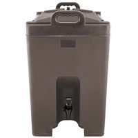 Carlisle XT1000001 Cateraide Brown 10 Gallon Insulated Beverage Dispenser