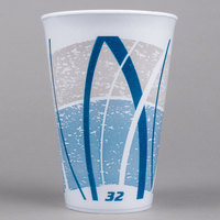 Dart 32LX32E 32 oz. Impulse Foam Cup - 500/Case
