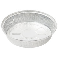 8 inch Round Foil Take Out Pan with Board Lid   - 200/Case